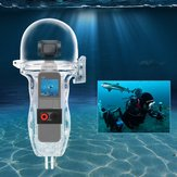 Sunnylife Sport Camera 60 Meters Waterproof Case Diving Shell Housing For DJI OSMO POCKET Handheld Gimbal