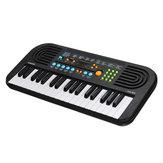 37 Teclas Teclado Eletrônico Digital Piano com Microfone Instrumento Musical de Brinquedo para Crianças Iluminação de Música