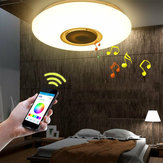 48W Dimmable LED RGB Ceiling Panel Light Down Bluetooth Music APP Control Lamp