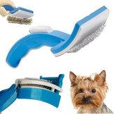 Pet Dog Cat Grooming Samoczyszcząca szczotka dla zwierząt + narzędzie do usuwania futra z grzebienia