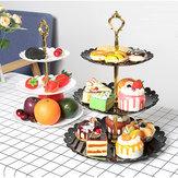 Dessert Stand Cake Fruit Cupcake Plate Holder Round Rack