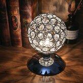 Modern Kristal Top Masa Lamba Gece Lambası Yatak Odası Başucu Masası Lamba Dokunmatik