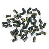 50Pcs 10V 2200UF 10 x 20MM Hochfrequenz-Radialelektrolytkondensator mit niedrigem ESR