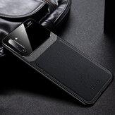 Для Samsung Galaxy Note 10 Plus / Galaxy Note 10+ 5G Bakeey Роскошный бизнес искусственная кожа Зеркало Стекло Противоударный Защитный Чехол
