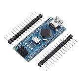 3pcs ATmega328P Nano V3 Módulo de desarrollo de versión mejorada de la placa controladora
