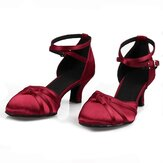 Sapatos femininos de salto 5,5 cm Tango Ballroom Modern Fashion Dance Shoes