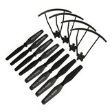 Eachine EG16 GPS RC Drone Quadcopter Spare Parts Pack 8Pcs Propeller Blade & 4Pcs Props Guard Protection Cover