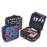 Upgraded Version Waterproof Oxford Cosmetic Case Beauty Brush Organizer Makeup Bag Female Bag