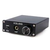KGUSS HA6 2x50W TPA3116D2 HIFI Цифровое аудио без потерь мощности Усилитель Усилитель для наушников