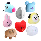 Dla KPOP BTS BT21 TATA SHOOKY RJ SUGA COOKY JIMIN Łóżko Plush Pillow Doll