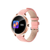 Bakeey H7 Heart Rate Blood Pressure Oxygen Monitor Fashion Female Crystal Smart Watch