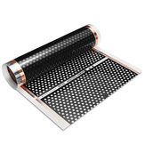 50-200cm 220W Honeycomb Reticulated Floor Heating Film Infrared Underfloor Film Pads