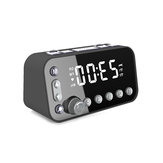 DAB + FM Radio LED Sveglia digitale da tavolo con timer snooze da tavolo con doppia USB
