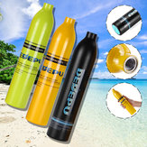 DEDEPU 0.5L Oxygen Spare Scuba Diving Air Tank Underwater Mini Cylinder Breathing Bottle Diving Snorkeling Accessories