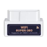 Мини ELM327 WiFi OBD2 Беспроводной автомобильный диагностический детектор V1.5 PIC25K80 Chip