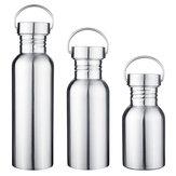 350-750 мл 304 из нержавеющей стали с широким ртом спортивная бутылка для воды