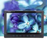 Универсальный 9 дюймов Цифровой TFT LCD Авто DVD-плеер Подголовник Монитор Дистанционное Управление