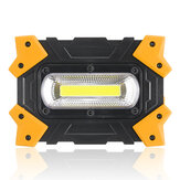300W COB LED Camping Light 3 Modes USB Charging Flood Lamp Outdoor Emergency Work Light