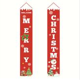 Buon Natale portico Banner decorazioni esterne di Natale per la casa pendente pendente ornamento di Natale