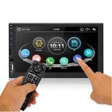7009 7-calowy samochodowy odtwarzacz stereo MP5 Radio FM bluetooth Karta SD USB AUX W Pojemnościowy ekran dotykowy Obsługa DVR Kamera tylna