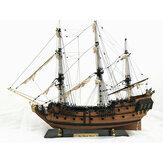 32 Cal Statek Montaż Model DIY Zestawy Drewniane Łodzie Żeglarskie Dekoracji Zabawki DIY Prezent
