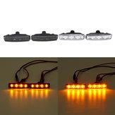 Auto LED zijmarkeringslichten Indicator knipperlicht Amber voor BMW E39 1997-2003