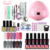 12 Color Nail Polish Gel Nail Polish Gel Nail Set