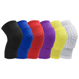 Honeycomb Basketball Shockproof Breathable Knee Pad
