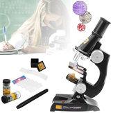 子供の教育用玩具がセットされた子供向けのジュニアマイクロスコープサイエンスラボ