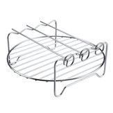6шт. 9 дюймов Антипригарные принадлежности для фритюрницы Набор пирогов для пиццы, запеканка для жарки Набор Для фритюрницы 5.3-6.8QT