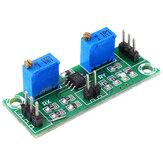 LM358 Módulo de Amplificador de Tensão Amplificador de Sinal Fraco Amplificador Operacional Secundário Único Coletor de Sinal de Potência
