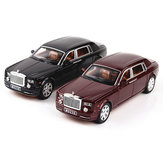 1:24 Alloy Roll Royce Phantom Lengthened Cohes Diecast Car Vehicles Model Toy