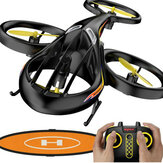 SYMA TF1001 Helifury 360 Altitude Hold Mode 3D Inverte LED RC Drone Quadricóptero RTF com almofada de aterrissagem