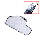 Transparent Golf Rain Cover Raincoat Waterproof Dustproof Golf Club Bag Protector