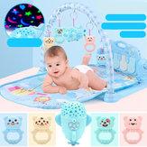 赤ちゃんプレイマットゲーム音楽フィットネスブランケット早期教育玩具直接充電投影宇宙船バージョン新生児グッズ