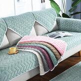 Capa de sofá de tecido Soft antiderrapante Sofá de capa deslizante Toalha Tapete de proteção para sala de estar