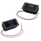 Imperméable 12-60V électrique universel Batterie voltmètre Batterie indicateur de puissance 12V / 24V / 36V / 48V