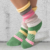 Tejido casual calcetines