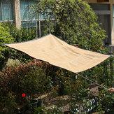 Taman Pasir Matahari Naungan Berlayar Kain Jala Tenda Kanopi Luar HDPE 90% Kerai Net