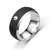 Bakeey Reloj Partner Acero inoxidable Smart bluetooth Ring Smart NFC Ring para Android