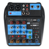 4 Channel Professional صوت Mixing Console USB bluetooth موسيقى Stereo Mixer