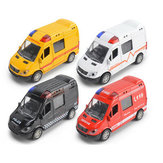 New 1:36 Fire Truck Simulation Police Ambulance Car Model Toys Kids Children