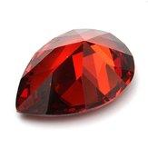 13x18mm Corindón artificial Paloma Zafiro rojo sangre Decoraciones de piedras preciosas sueltas brillantes
