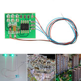 Traffic Light Signal LED Circuit Board for Model Railroad Crossing LED Street Signal