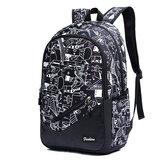 16inch Canvas Backpack 15.6inch Laptop Bag Sac à bandoulière