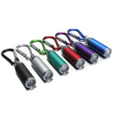 Mini LED Espelho convexo Lanterna Lâmpada Keychain Light Torch Keyring Multi-colors