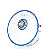 Roborock S52 Robot Vacuum Cleaner 2-in-1 Sweeping and Mop, LDS and SLAM Smart Planned 2000Pa Suction 5200mAh Custom Edition with Football Star Voice