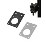 TWO TREES® NEMA17  42 Stepper Motor  Black/Silver Fixed Bracket Mounting Plate for 3D Printer Motor 2020 Profile Parts