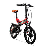 [EU Direct] RICH BIT TOP-730 48V 250W 8Ah 20inch Folding Moped Electric Bike 32km / h Top Speed 45-50km Mileage Outdoor Cycling Mountain Bicycle