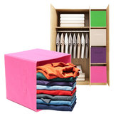 Jumbo Foldable Canvas Storage Tidy Organizer Collapsible Folding Box Cube Shelf Storage Baskets